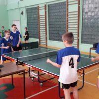Tenis stołowy chłopców