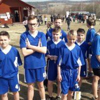 Zawody rejonowe w indywidualno – drużynowych biegach przełajowych chłopców
