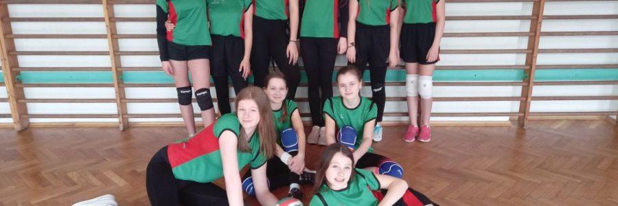 Mini piłka siatkowa dziewcząt – zawody rejonowe