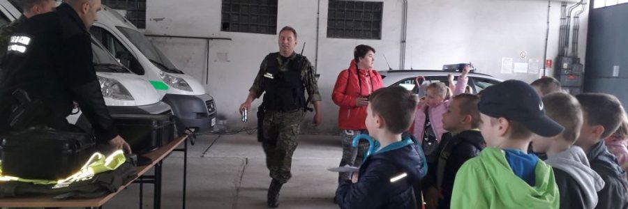 Wizyta w jednostce straży granicznej