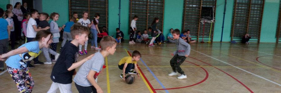 Świetlicowa rywalizacja sportowa z okazji Dnia Dziecka
