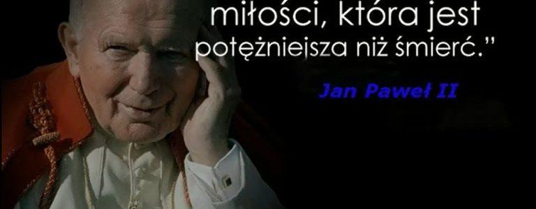 """Utwór """"Święty Janie Pawle…"""", Marka Dzioka na portalu esanok"""