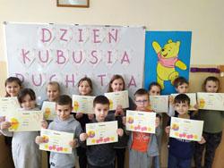 Międzynarodowy Dzień Kubusia Puchatka w klasie 1a