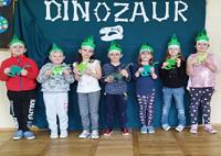 Dzień dinozaura w oddziale przedszkolnym