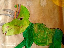 Dzień Dinozaura w świetlicy
