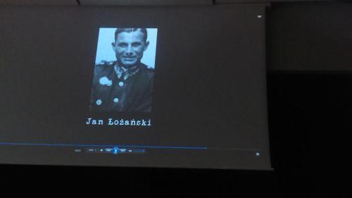 Sesja historyczna upamietniająca70 rocznicę rozstrzelania H. Żurowskiej