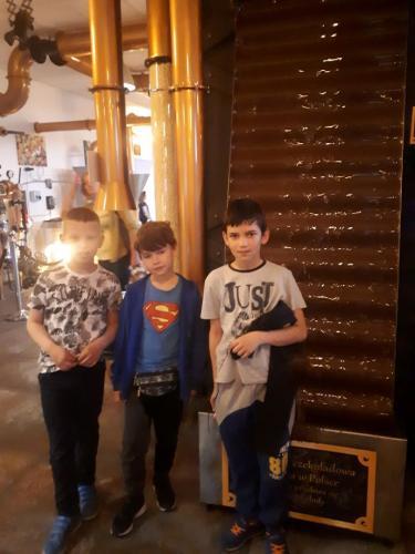 Wizyta w Fabryce Czekolady