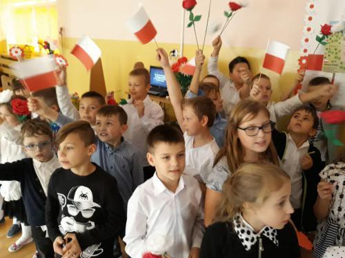 Święto Niepodległości w świetlicy szkolnej